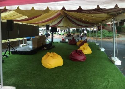 School Inhouse Event Bean Bags Hire